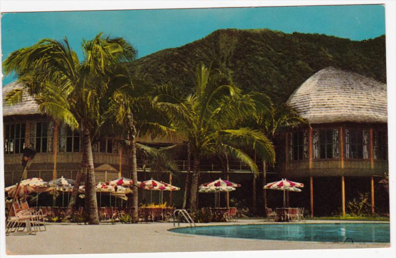 Pago Pago Intercontinental Hotel, Swimming Pool, American Samoa, 40-60s