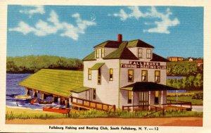 NY - South Fallsburg. Fallsburg Fishing & Boating Club
