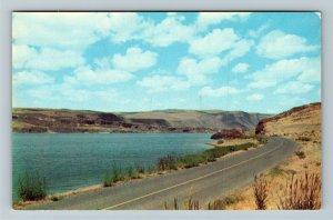 Soap Lake WA- Washington, Grand Coulee, Life Giving Water, Chrome Postcard
