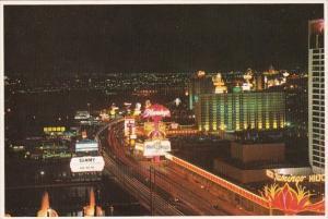 Nevada Las Vegas The Fabulous Las Vegas Strip At Night