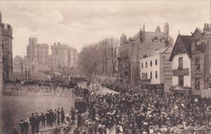WINDSOR, Berkshire, Englad, 1900-1910's; The King At Windsor