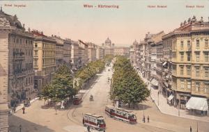 Street View, Kartnerring, Wien, Austria, 1900-1910s