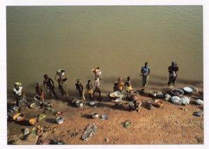 Segou Miniature African Models Crafts Postcard