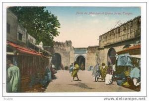 TANGER, Morocco, 00-10s , Porte du Marchan et Grand Soko