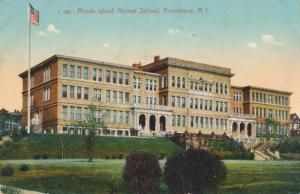 Rhode Island Normal School at Providence RI, Rhode Island - pm 1912 - DB