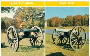 10 Pounder Parrott, Iron Cannon, used at Gettysburg, PA