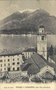 Lago di Como, Italy, Italia Bellagio e Cadenabbia dalla Villa Serbelloni Lago...