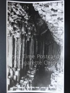 STAFFA, In Fingal's Cave c1931 RP