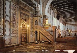 Syria Damascus Omayad Mosque Mosquee des Omayyades Damas