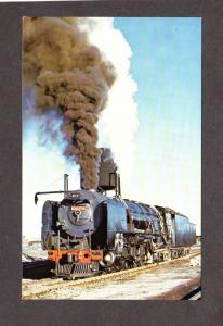 South Africa Ezette 3428 Railroad Train Engine Steam Locomotive DeAar Postcard