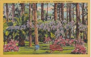 Oriental Gardens Jacksonville Florida Curteich
