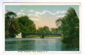 Buffalo, New York to Bridgeport, Connecticut 1917 PC Cazenovia Park Bridge