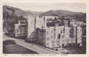 Califorinia Berkeley Stephens Union University Of Califorinia Albertype