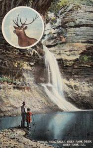 Bridal Veil Falls, Deer Park Glen, Deer Park, Illinois, 1900-1910s