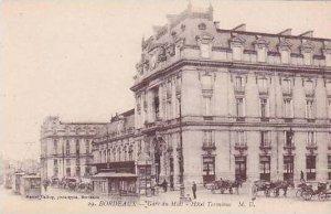 France Bordeaux Gare du Midi Hotel Terminus