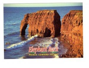 Elephant Rock, Prince Edward Island, Large 5 X 7 Postcard