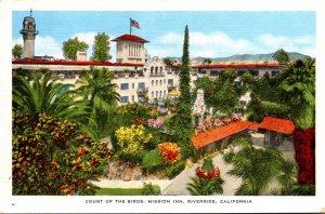 California Riverside Mission Inn Court Of The Birds