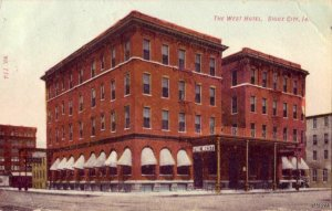 THE WEST HOTEL SIOUX CITY, IA 1909
