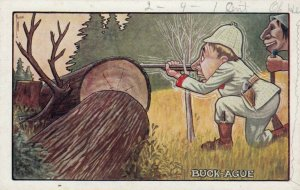 Shaking Hunter , BUCK-AGUE , 00-10s ; Artist RYAN