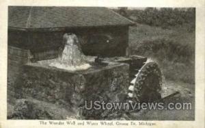Wonder Well & Water Wheel Grosse Ile MI Unused