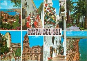 Modern Postcard Costa Del Sol Various Views