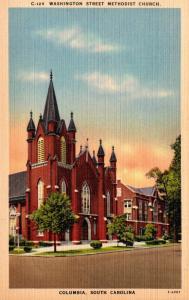 South Carolina Columbia Washington Street Methodist Church