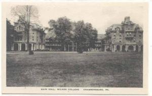 Main Hall , Wilson College, CHAMBERSBURG, Pennsylvania, 00-10s