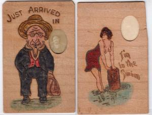 2 - Wooden Cards