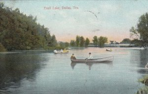 DALLAS , Texas , 1909 ; Exall Lake