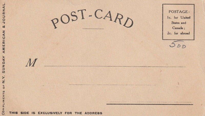 AS: Lest We Forget, Jimmy holding Rush Important envelope; SWINNERTON, 1906