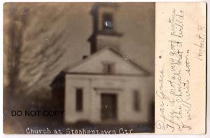 RPPC, Church at Stephentown Ctr NY