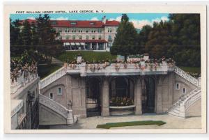 Fort William Henry Hotel, Lake George NY
