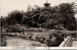The Sankeien Garden Yokohama Japan Unused Postcard F80