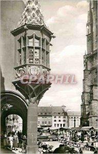 Modern Postcard Freiburg Schwarzwald Erker of hist Kauthaus am Munsterplatz