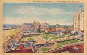 New Jersey Atlantic City Marlborough Blenheim And Claridge Hotels