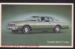 1977 CHEVROLET CHEVY IMPALA SPORT COURP CAR DEALER