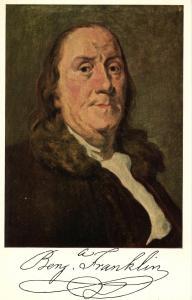Famous People - Benjamin Franklin