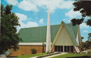 The New First Methodist Church, On Beautiful Center Lake, Clermont, Florida...