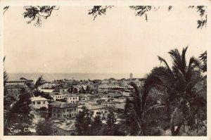Ghana Cape Coast panorama RP postcard