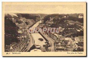Old Postcard Molaix shooting Viaduct