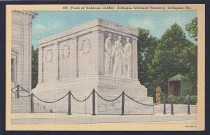 Tomb of Unknown Soldier Arlington VA unused c1939