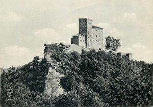 Germany Postcard Burg restaurant Triftels