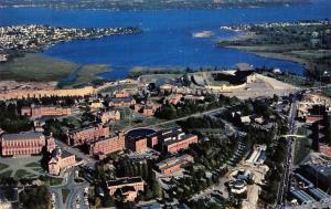 Seattle University of Washington~Husky Football Stadium~Huge Library~Campus 1956