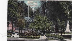 Central Park, West Entrance, Sterling, Illinois, 1900-1910s