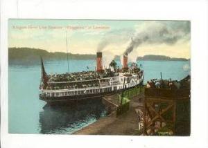 Niagara River Line Steamer, Chippewa, Lewiston, Pre 1907