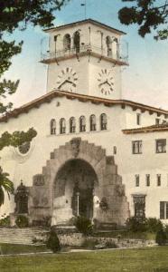 CA - Santa Barbara, County Courthouse