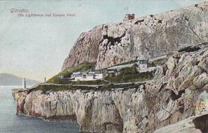 The Lighthouse and Europa Point, Gibraltar, 1900-1910s