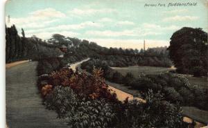 Huddersfield Norman Park Promenade Panorama Postcard