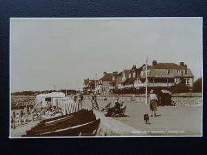 Sussex WEST BOGNOR Promenade & MARLBOROUGH HOTEL c1930 RP Postcard by Judges