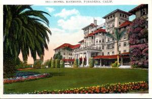 California Pasadena Hotel Raymond